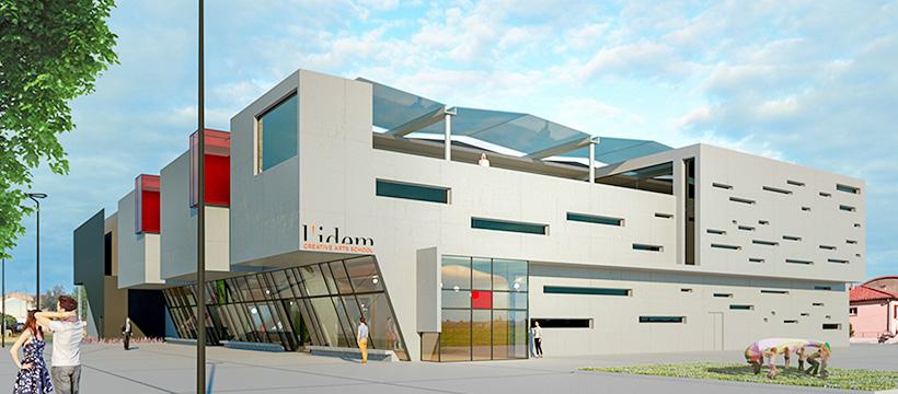 Les nouveaux bâtiments de L'IDEM en 2020